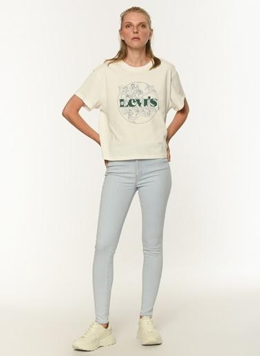 Levi's® Kadın Tişört Graphic Varsity 69973-0184 Renkli